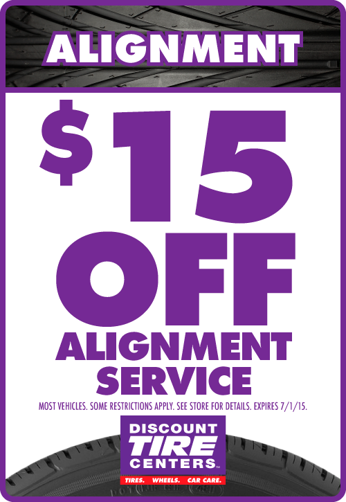Stop in for a free alignment check at any of our locations
